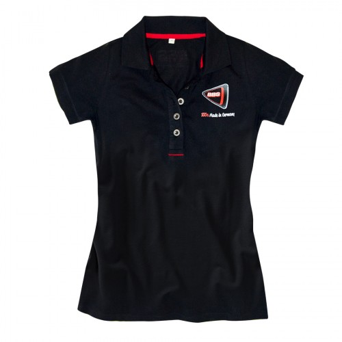 BBS Polo Shirt BLACK, WOMEN