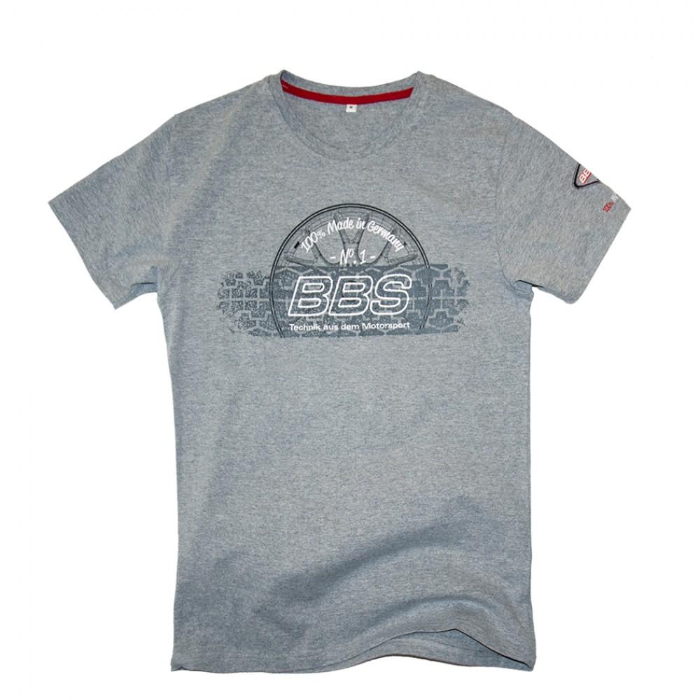 BBS T-Shirt GREY, MEN at AMG Australia