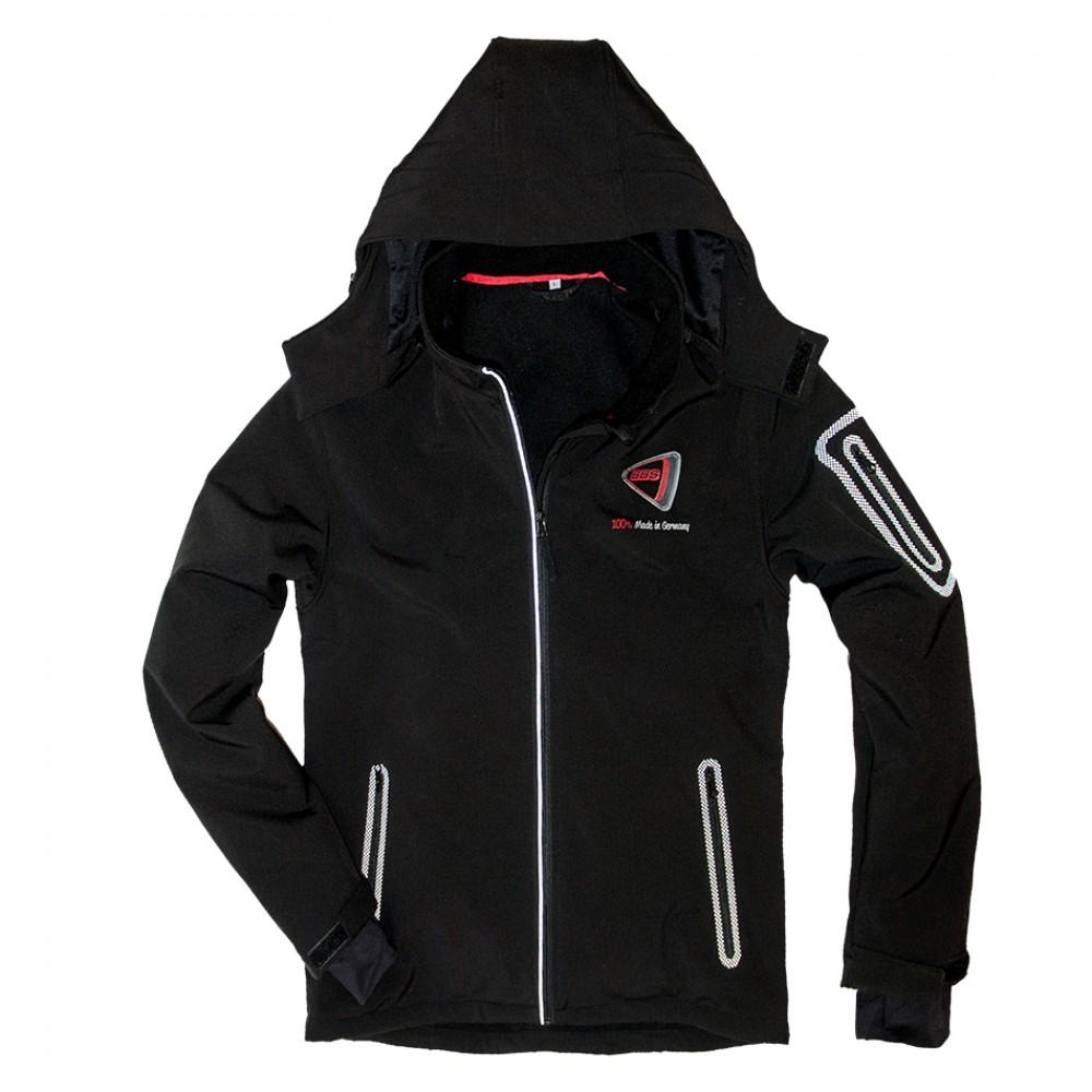 BBS Softshell Jacket BLACK, MEN at AMG Australia