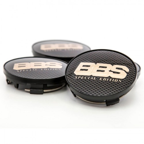 BBS Center Cap Bronze/Carbon Special Edition With Clip Ring