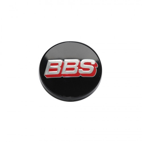 BBS-Center Cap Silver/Red/Black - Without Clip Ring