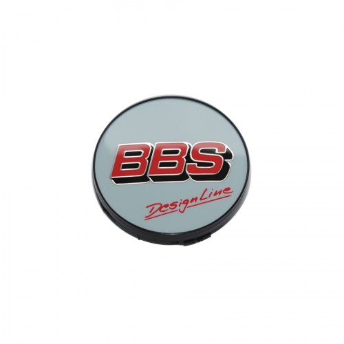 BBS Center Cap Silver/Red/Black/Grey - Without Clip Ring