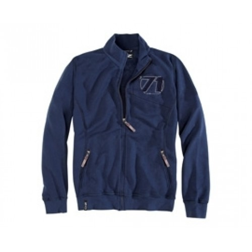 OZ 71 Zip Sweatshirt Blue Navy