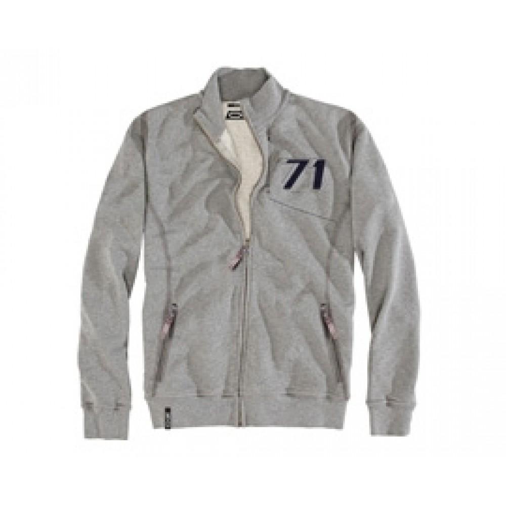 OZ 71 Zip Sweatshirt Grey at AMG Australia