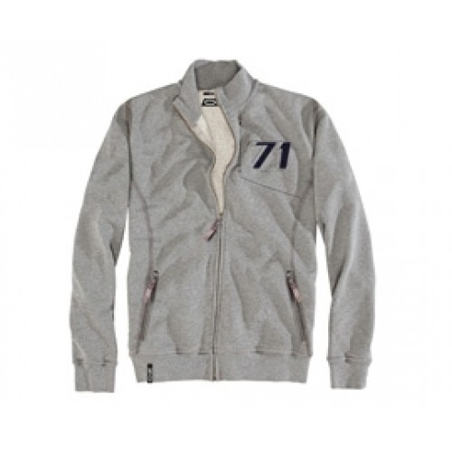 OZ 71 Zip Sweatshirt Grey
