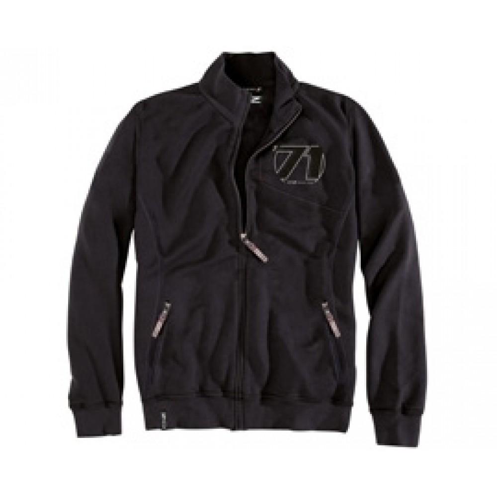 OZ 71 Zip Sweatshirt Black at AMG Australia