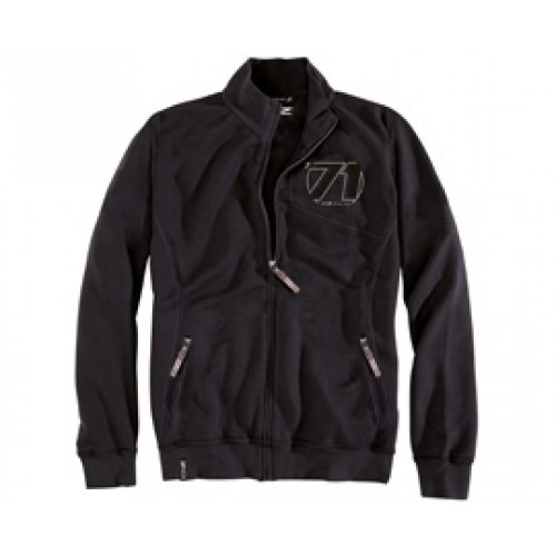 OZ 71 Zip Sweatshirt Black