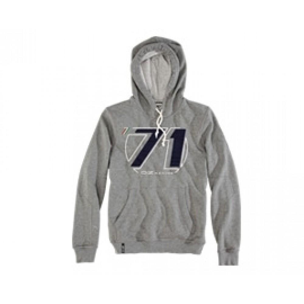 Hooded Sweatshirt OZ 71 Grey at AMG Australia
