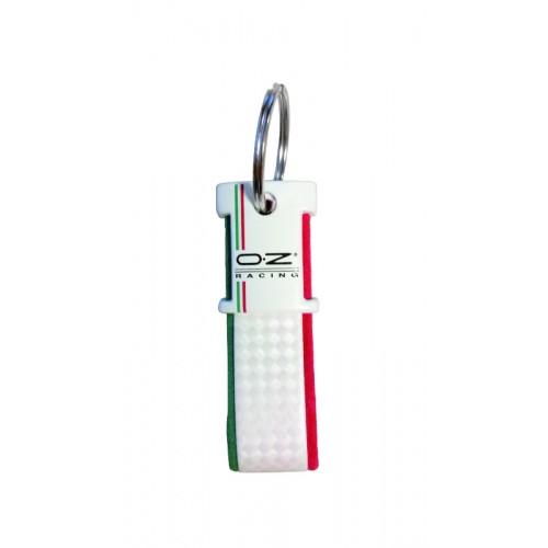 OZ Keyring Carbon White Italy